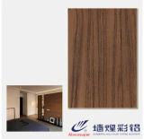 Precio de los paneles de pared de la hoja de acero del PVC del aspecto de la manera para la pared de partición