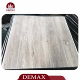 De colle plancher arrière sec durable imperméable à l'eau gris-clair de vinyle vers le bas