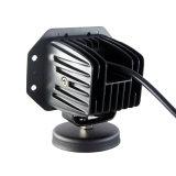 12W 3pol LED CREE luz de condução com reflector em 4D