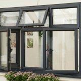 Australien-Standardqualität 100 Serien-schiebendes Fenster-Glasaluminiumfenster