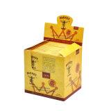 100per/Box куря сигаретную бумага завальцовки пеньки Хонит Brown естественную