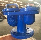 Чугунные ковких чугунных фланцевый двойной шаровой клапан выпуска воздуха с автоматическим Сделано в Китае