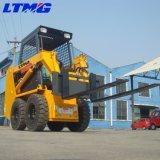 중국 700kg 소형 미끄럼 수송아지 바퀴 로더 가격