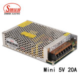 Mini DEL bloc d'alimentation de Smun as-100-5 100W 5VDC 20A AC-DC