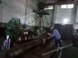 Pompa centrifuga a più stadi orizzontale del rifornimento idrico del motore elettrico