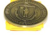 Medalha feita sob encomenda militar do metal quente da liga do zinco da concessão da venda 3D
