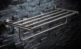 An der Wand befestigte Badezimmer-Tuch-Zahnstange des Edelstahl-304
