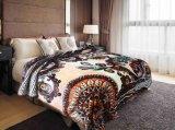 Роскошный Raschel одеяло для изготовителей оборудования с тем Корея стиле двуспальная кровать