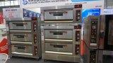 Handelsbäckerei-Gerät, 2 Tellersegment-elektrischer Ofen der Plattform-4