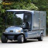 2 Seaterの閉鎖の貨物が付いている実用的な電気ゴルフカート