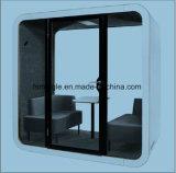프라이버시 회의 깍지로 주문을 받아서 만들어진 공중 전화 박스 청각적인 사무실 공중 전화 박스
