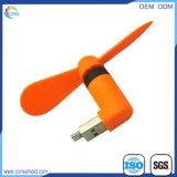 Micr3ofono y ventilador portuario del USB mini para el teléfono elegante