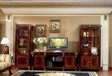 Spanische klassische goldene Luxuxdekoration, die Schaukasten speist