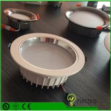 5W à intensité variable étanche IP44 Plat Die Casting LED Downlight encastré