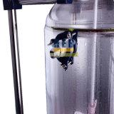 Heb-20L de dubbele Reactor van het Glas van de Laag/de Beklede Reactor van het Glas met 30L het Verwarmen het Bad van de Omloop