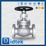 L'acier inoxydable d'essai de Didtek API598 a coincé le robinet d'arrêt sphérique