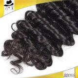 10Aブラジルの深い波の毛、100%Unprocessedの低価格