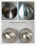 Gran Bola de acero inoxidable colgante de metal fina terminar mirando la pelota con superficie mate de 500mm 700 mm de 900mm