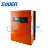 Inverseur solaire à C.A. de C.C d'UPS d'hybride de Suoer 12V 220V 1kw (SON-MPPT-1400A)