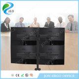 (JN-MP340GL) Stand blanc de moniteur d'ordinateur de support réglable de moniteur de hauteur d'étalage d'écran quatre