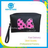 卸し売りカスタムロゴの蝶構成の化粧品袋