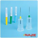 Sicherheits-Blut-Ansammlungs-Nadel mit Halter Luer Verschluss