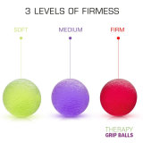 手、指、グリップの増強および圧力救助のために球大きい手の圧力の練習