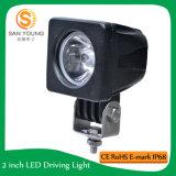 10W DEL fonctionnant les lumières légères de travail de CREE de DEL pour des véhicules d'entraîneurs