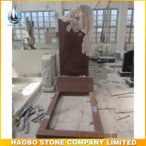 Het Europese Monument van de Stijl met de Standbeelden van de Engel nam de Grafsteen van het Graniet van het Beeldhouwwerk toe