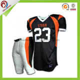 Sublimation Custom larva football jersey American Youth American football jersey