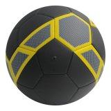 しっかりとマット黒いクラブ顧客用練習のサッカーボール