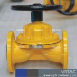 Vatac zeichnete oder unliniertes Weir/Kb/a/Straight durch Typen Membranventil