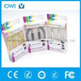3.5mm bis 3.5mm abnehmen elastisches Audiodas kabel-Grün