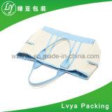Sac de coton d'emballage estampé par coutume d'achats d'épicerie d'audit d'usine