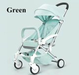 Fabrik-direkte neue Ankunfts-rosafarbener u. grüner Baby-Spaziergänger