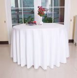 カスタムジャカードダマスク織のテーブルクロスポリエステル