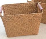 Natural, Artesanal de almacenamiento práctico, canasta de paja (BC-S1283)