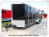 Carros do caminhão do café da grade de Lovarock dos Hamburger de Crips dos peixes de Nova Zelândia