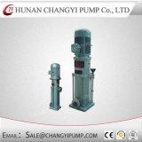 Pompa a più stadi di stile verticale elettrico del motore di uso di acqua