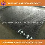 Placa de superposición de Carburo de Cromo para la terminal y el envío de equipos
