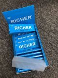 1600 hojas de cáñamo orgánico de laminación de cigarrillos sin blanquear el papel de tamaño de 1 1/4