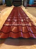 PPGI Couleur antique tuiles de toiture en métal émaillés en Amérique du Sud
