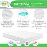 La Cina Coolmax all'ingrosso impermeabilizza il Encasement bianco del materasso di stile misura prova dell'errore di programma di base di 100% con TPU