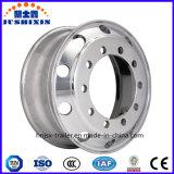 O caminhão de alumínio resistente da roda parte bordas das rodas da liga para o reboque do caminhão