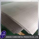 plaque Checkered de l'acier inoxydable 201 202 304 430 316