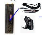 8 sinal de Antena Jammer com Caixa portátil, 2G/3G/4G Telefones Celulares+GPS+Wi-Fi+Lojack Jammer/Bloqueador com caixa portátil