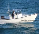 Constructeur de bateau de Panga de bateau de pêche de vitesse de bateau de fibre de verre de Liya 19ft