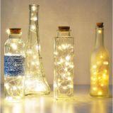 Luz ao ar livre personalizada da corda do diodo emissor de luz da bateria do AA do comprimento