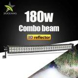 3D 180W 32 pouces de gros Spot Combo d'inondation Offroad 2 Row Bar lumineux pour LED Cree pour Jeep SUV du chariot