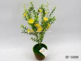 Plástico/Artificial/flores de seda Daisy&Hierba Bush (XF-S008)